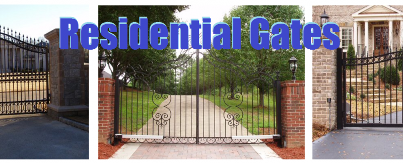Residential Gates and Fences by Bradleys Automatic Gates